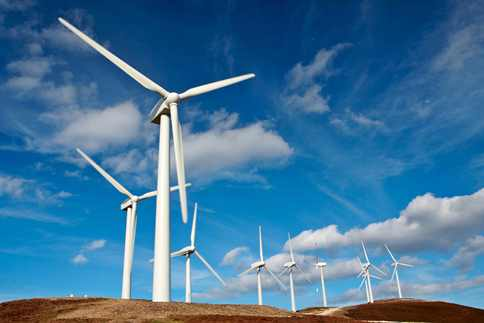 Wind-Farm Renewable Energy